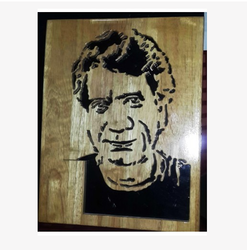 Public Figure Wooden Carving PF16