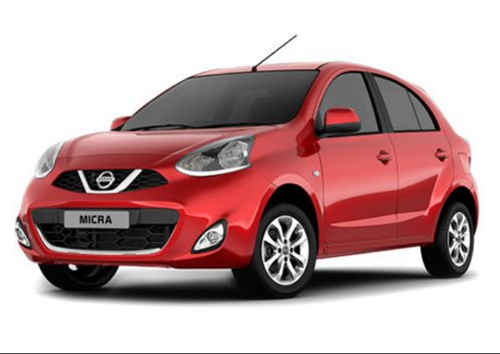 Red Nissan Micra Active XL Option Car