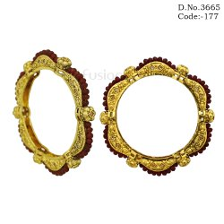 Antique Ruby Bangles