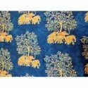 Arya 44-45 Inches Stylish Party Wear Printed Silk Fabric, Gsm: 80-150