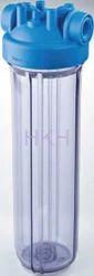 transparent ATLAS FILTRI Filter Housing, For Liquid Filtration