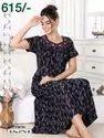 Alphine Half Sleeve Ladies Night Wear, Age Group: 22 Up To
