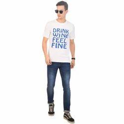 Mens Fancy Cotton T-Shirt