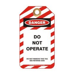 Standard Safety Lockout Tags
