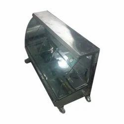 DE SS,Glass Food Display Counter, For Restaurant