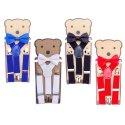 Kidofash Solid Colour Suspender and Bowtie Set