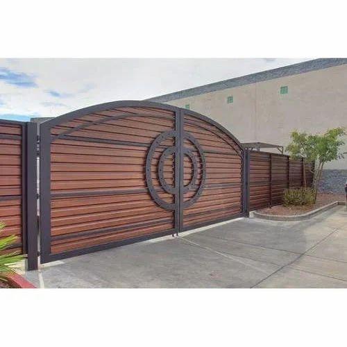 Steel Main Gate. Steel Main Gate  Designer Gate   Vedant Fabricator  Pune   ID