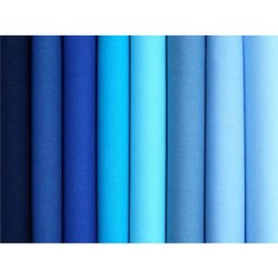 Blue Plain School Uniform Fabric