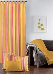 Stripe Design Cotton Curtain