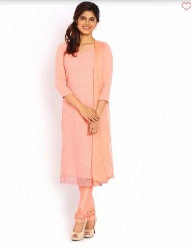 8353449a34 Soch Light Peach Salwar Suit at Rs 4698 /piece   Ladies Salwar Suits ...