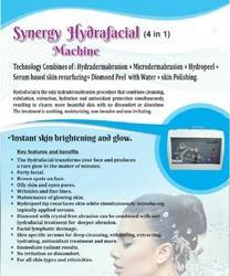 Hydrafacial 4 in 1 machine