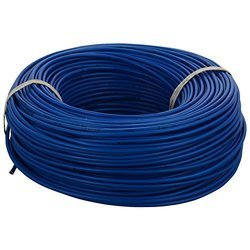 Blue PVC Cable, Packaging Type: Roll