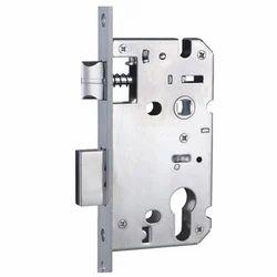Stainless Steel Mortice Euro Door Lock, Polished