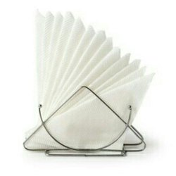 Plain White Paper Napkin