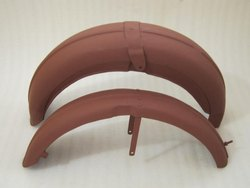 New Triumph 6t Thunderbird Front And Rear Mudguards 1955 & Onwards