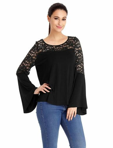 f1011941dae02 Girls Tops - Black And White Casual Tops Manufacturer from Noida