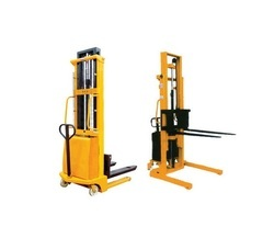 Semi Electric Stacker