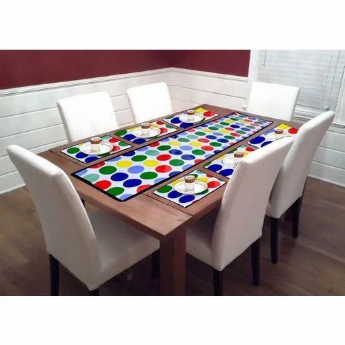 Dining Table Mat  sc 1 st  IndiaMART & Dining Table Mat at Rs 150 /set | Tehsil Camp | Panipat | ID ...