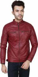 Men's Leather Full Sleeve Jackets