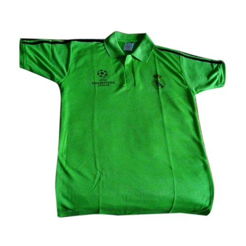 1108e65b Polyester Green Mens Half Sleeve Sports T-Shirt, Packaging Type: Packet
