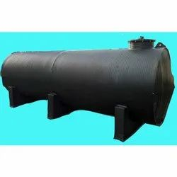 Black HDPE Horizontal Tank