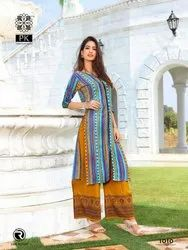 Printed Plazzo with Kurti