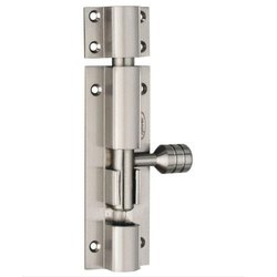 Brass Tower Bolt, Finish Type: Chrome, Size: 4 inch