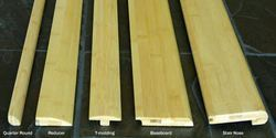 Brown Bamboo Flooring Accessories
