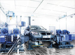 Vibration Isolation Automotive Test Stands