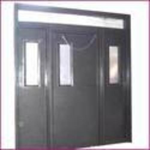 Steel Grey Defined Industrial Doors, Size/Dimension: Defined, For Defined