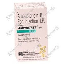 Amphotret 50mg Injection