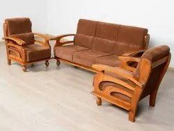Wooden Sofa 3 1 1