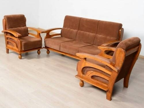 Tremendous Wooden Sofa 3 1 1 Gamerscity Chair Design For Home Gamerscityorg