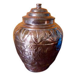 Rajwadi Nakashi Copper Matka