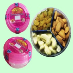 Retailer of Dry Fruits & Dry Fruits Mixed Pack 3 by Gouri