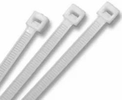 J3 Technology 300 x 3.6 mm Nylon Zip Wire Organizer Self Locking Tie (White) -500 Pieces