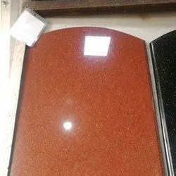Gloss Orange Flooring Marble Stone, Thickness: 16 - 17 mm, 9x5 Inche