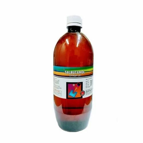 Salbutamol Syrup, Packaging Type: Bottle