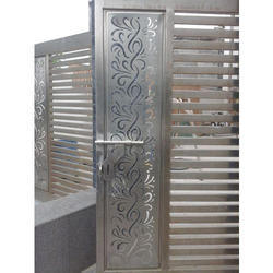 Stainless Steel Laser Cutting Steel Gate Rs 1200 Square Feet