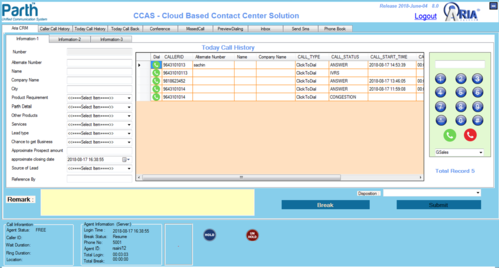 Cloud Based Call Center Solution