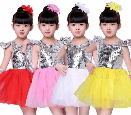 Western Dance Costumes For Kids, School Function Dress