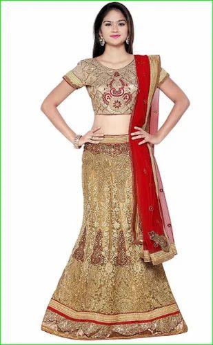 5d2fd1912eb Aasvaa Worthy Womens Embroidered Silk Lehenga Choli - Aasvaa Fashion ...