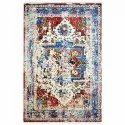 Rectangular Multicolor Modern Silk Room Rug For Floor