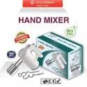 Electric Hand Mixer for Baking with Stainless Steel Beaters and Dough Hooks