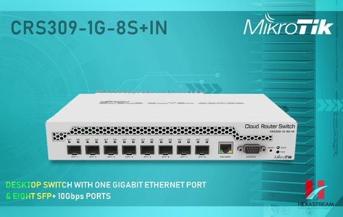 Mikrotik Crs309 1g 8s 10g Switch At Rs 10000 Piece Router Switches Id 21335814548