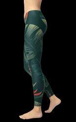 Printed High Waist Dry Fit Gym Wear Women Leggings