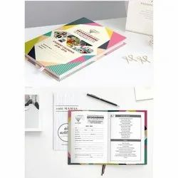 Paper Hard Cover School Notebook