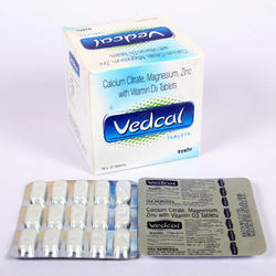 Calcium Citrate, Magnesium, Zinc With Vitamin D3 Tablets