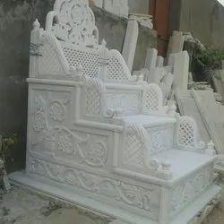 Complite Finish Indoor Masjid marble meember