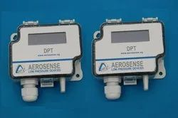 Aerosense Model DPT2500-R8-3W Differential Pressure Transmitter Range 100-0-100 Pa